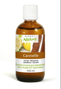 Huile Cannelle 100ml, lot de 4