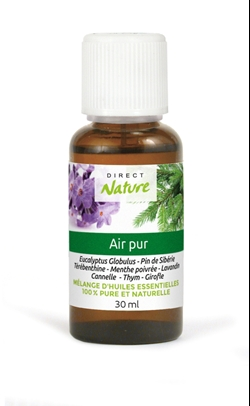 Huile Air pur 30ml   lot de 6