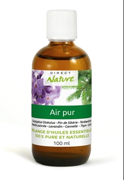Huile Air pur 100ml   lot de 4
