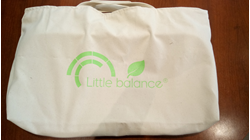 Sac de transport Little Balance Bibou Bag écolo / Pèse-bébé Bibou