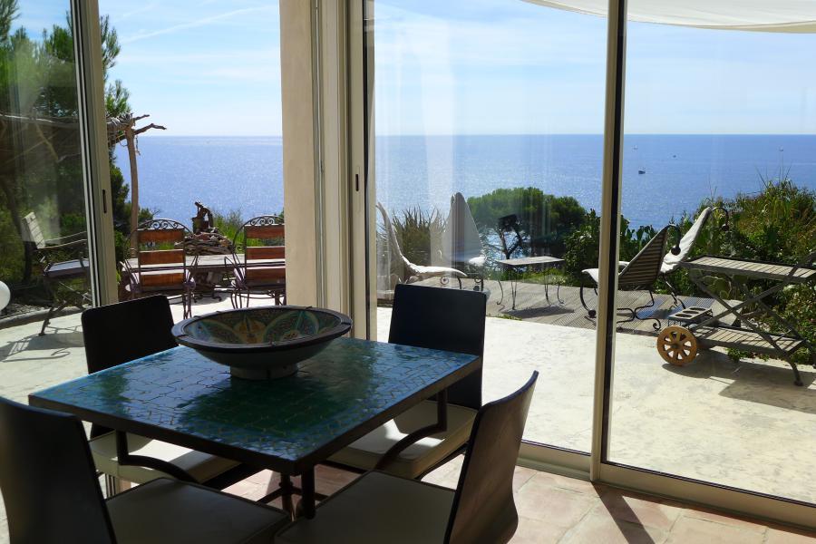 LA SALAMANDRE - Hyères - La Madrague - Adorable maison avec accès direct à la mer et ses criques, climatisée, panorama exceptionnel et calme absolu