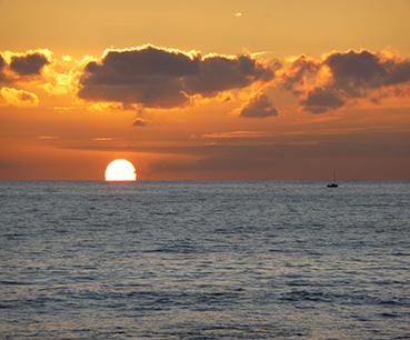 Sunset au cabanon Carqueiranne
