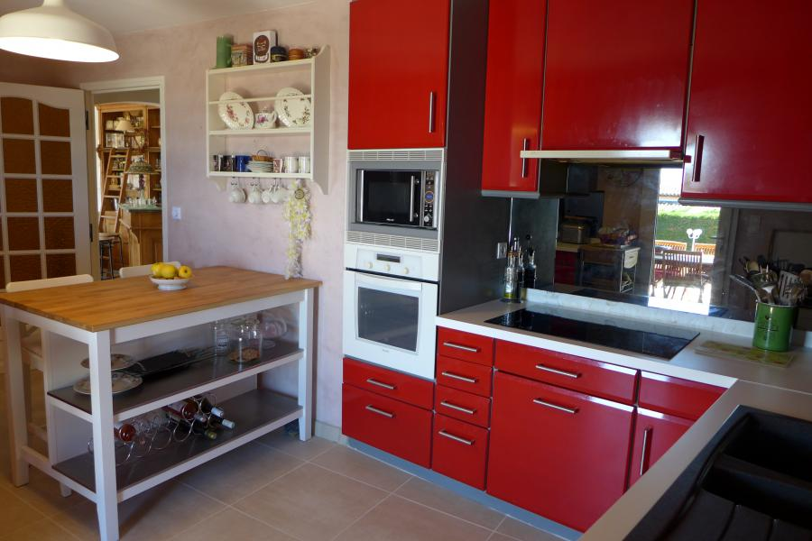 LES 3 PALMIERS - Carqueiranne - Spacieuse villa provençale, proche village Carqueiranne et des plages, vue mer, piscine, jacuzzi, billard, boulodrome